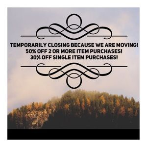 Pls share! Temporary Closing Sale!